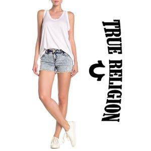 True Religion Kiera Acid Shorts